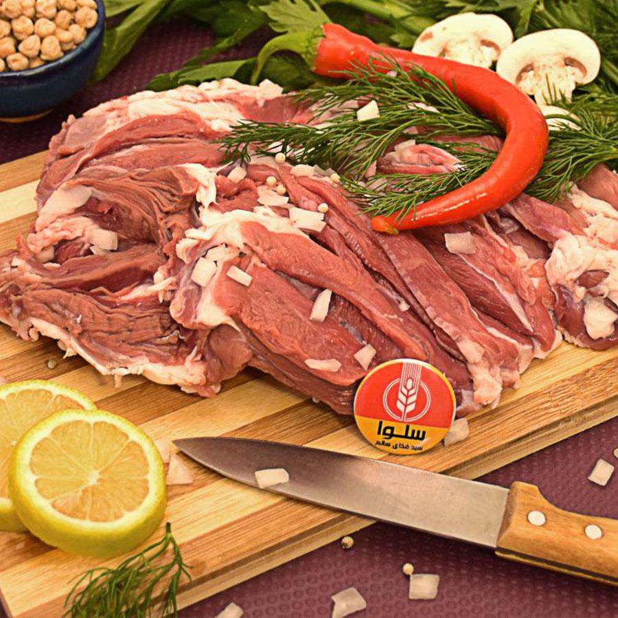 گوشت قرمز(گوسفند، شتر، شترمرغ)