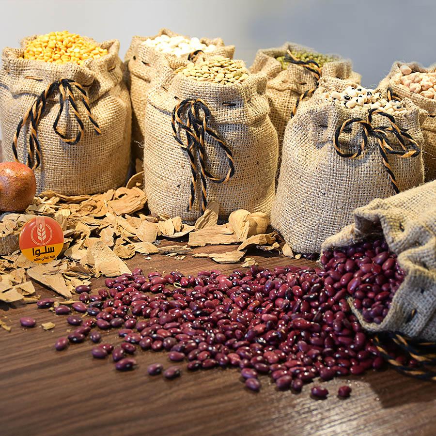 حبوبات، ماکارونی و برنج