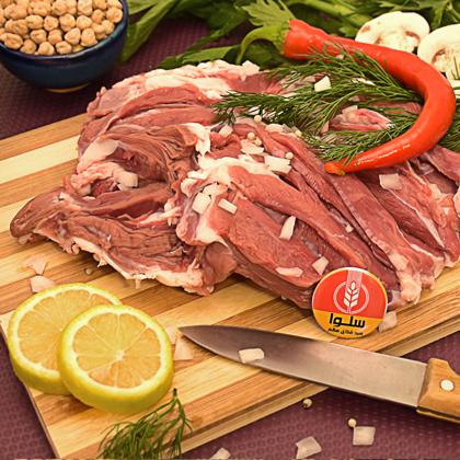 گوشت ران گوسفندی بی استخوان  (نیم کیلوگرمی)