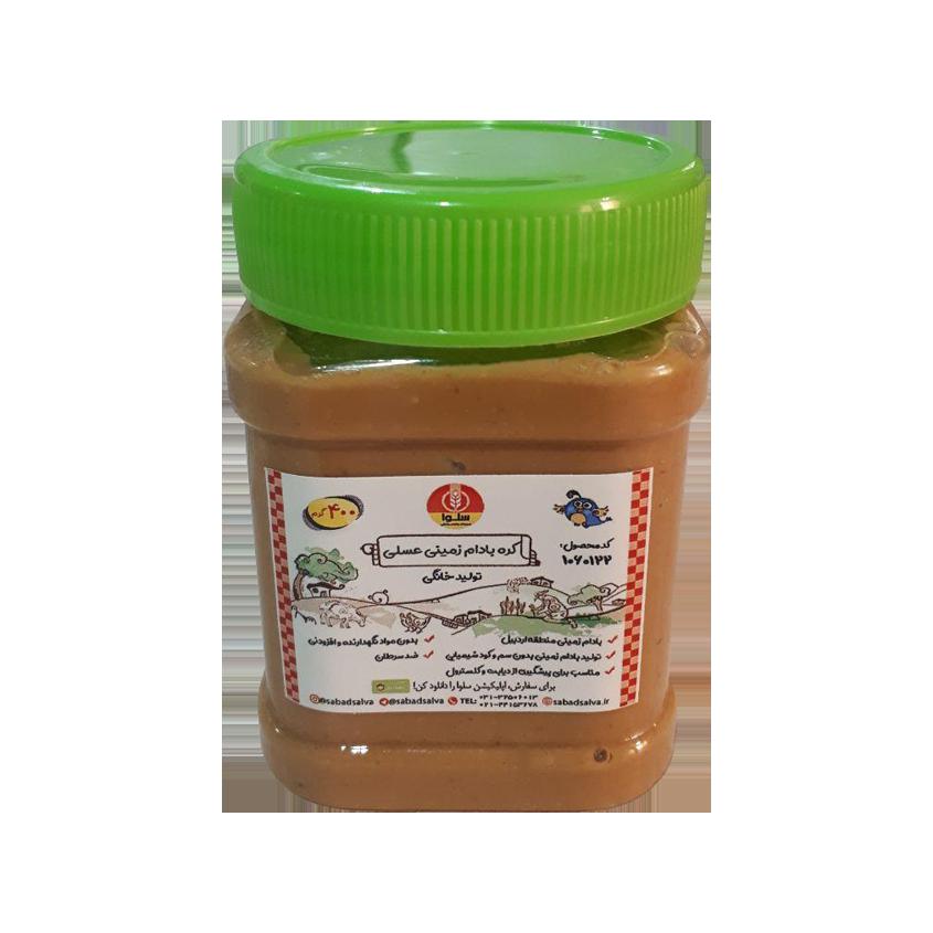 کره بادام زمینی عسلی (400 گرم)