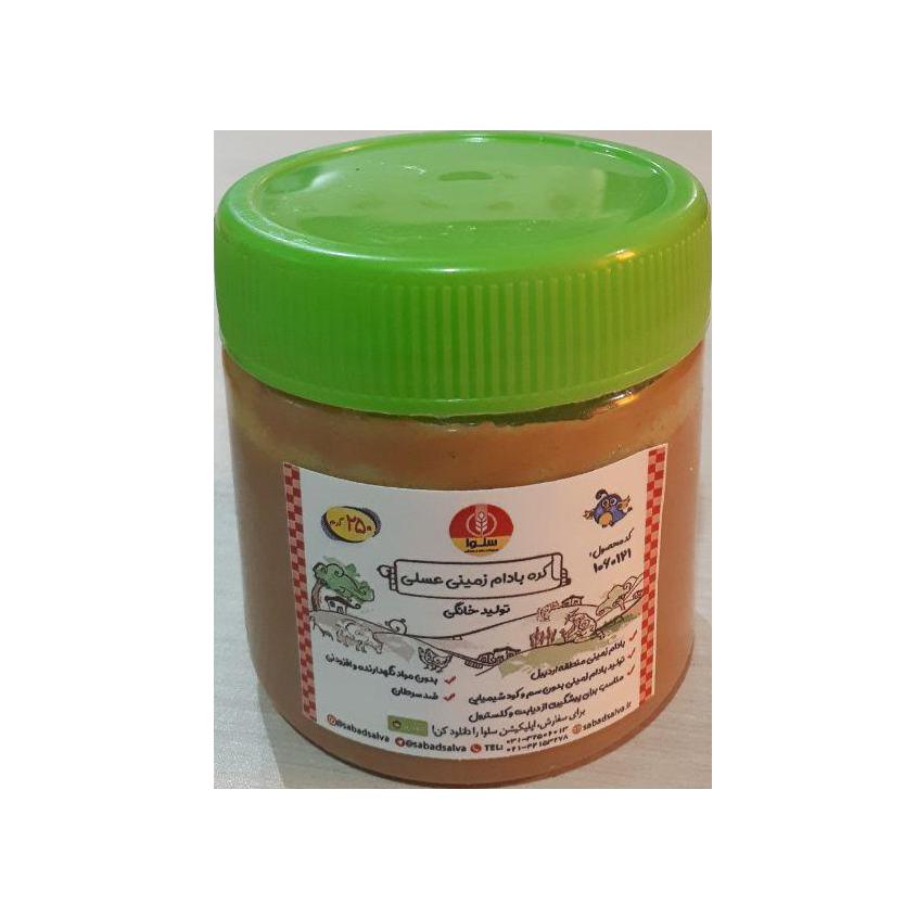 کره بادام زمینی عسلی (250 گرم)