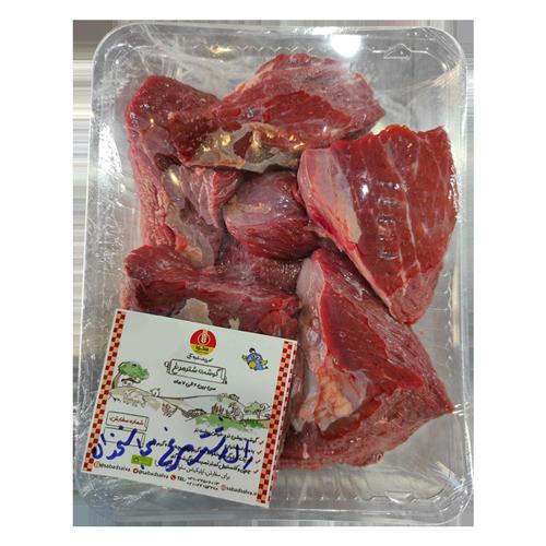 گوشت ران شتر مرغ بی استخوان (نیم کیلوگرمی)